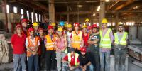 Selka Prefabrik İşyerinde Tavan Vinci Kullanma Eğitimi Yapıldı